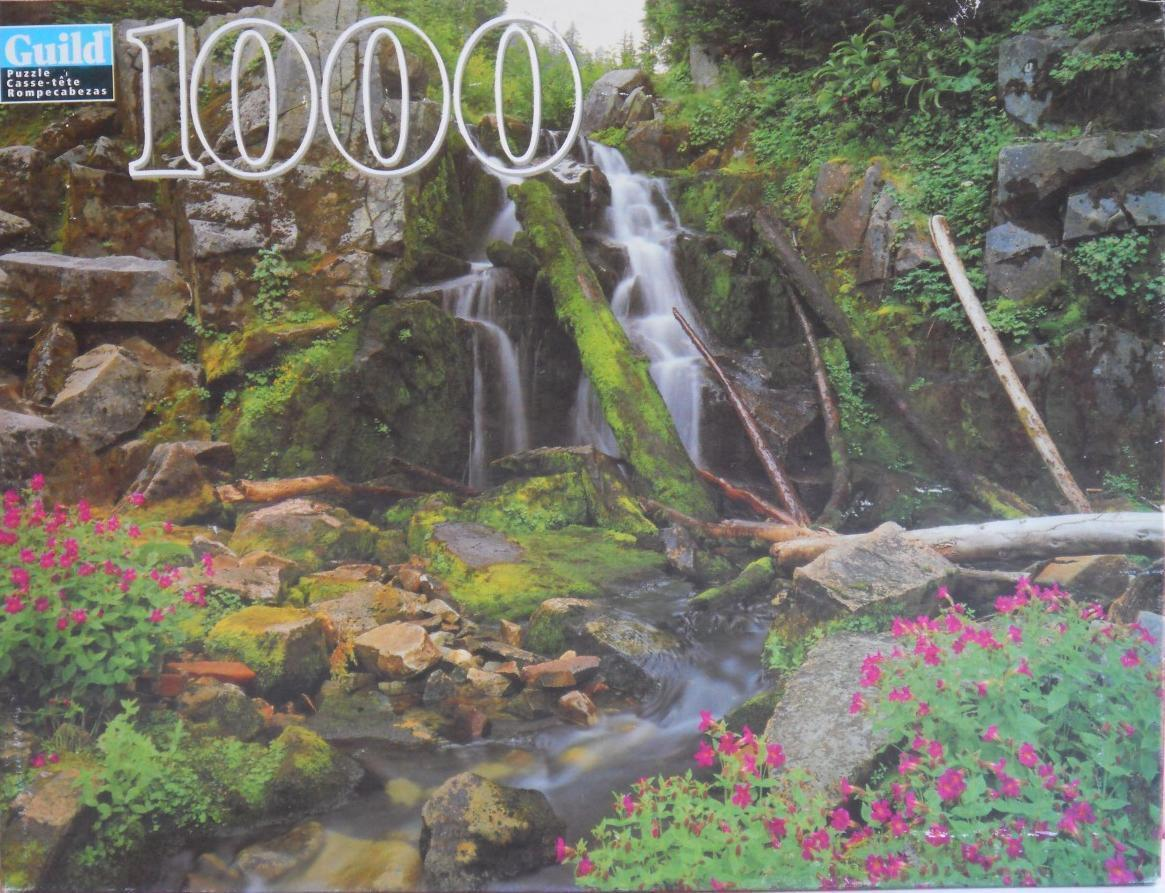 Primary image for 2001 Guild ~ Mount Rainier National Park 1000 PC Puzzle ~ New Sealed Water Falls