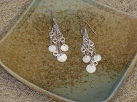 Cookie Lee Genuine Shell Pierced Earrings - Item #51590 - New! - $9.00