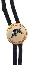 Cloth Brass Plated Philmont Scout Ranch Bull Bolo Tie - $15.00