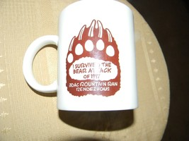 coffee cup i survived the bear attack of 1997 4 inch - $3.99