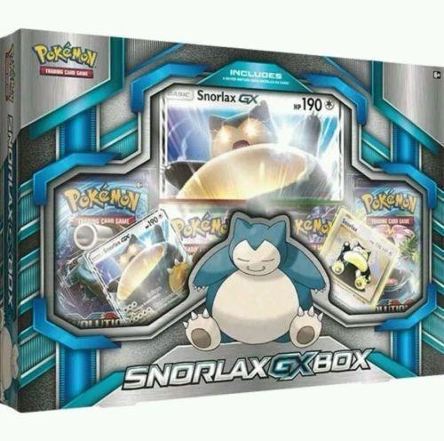 Tapu Koko Figure Collection & Snorlax GX Box POKEMON TCG 8 Booster Packs