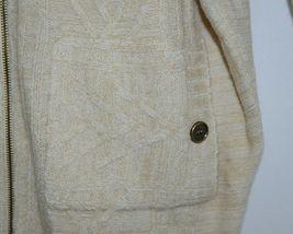 Simply Noelle Brand JCKT222SM Womens Pearl Zipper Knit Sweater Jacket Size SM image 3