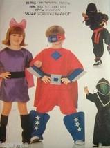 Butterick 6757 Childs Superhero Costumes Sewing Pattern Sizes 4-14 Uncut... - $8.35
