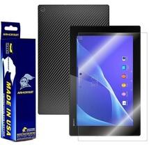 ArmorSuit MilitaryShield Sony Xperia Z2 Tablet Screen + Black Carbon Fiber Skin! - $34.99