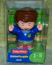Fisher Price Little People JACK Figure New - $6.88