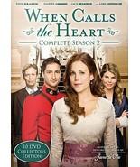 When Calls the Heart Complete Season 2 10-DVD Collector's Edition - $22.25