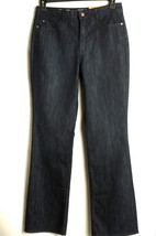 NWT Coldwater Creek Bootcut Dark Denim Jeans Womens 4 Petite Shaping Classic Fit - $14.99