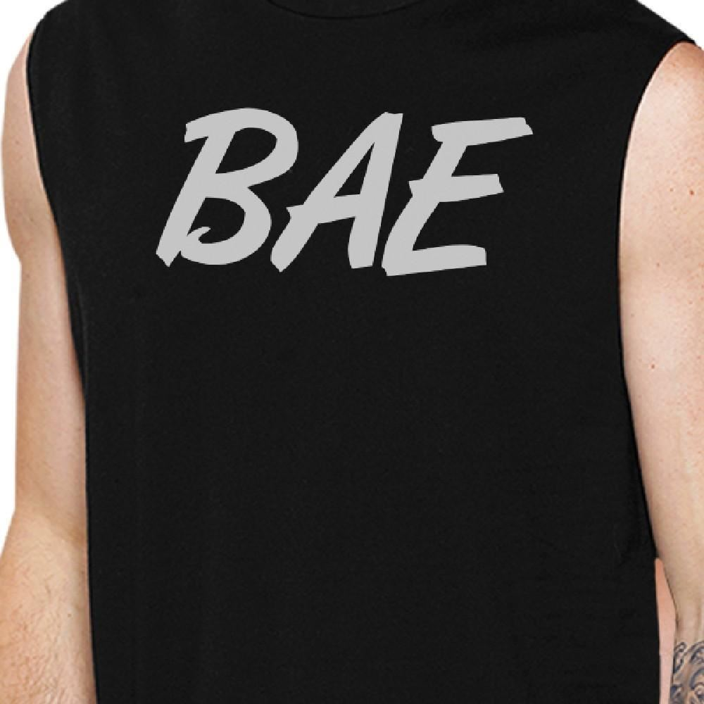 Bae And Owner Of Bae Matching Couple Black Muscle Top image 2