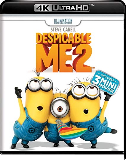 Despicable Me 2 [4K Ultra HD + Blu-ray]