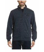 Gerry Men's Full Zip Up Static Sweater Jacket Zipper NWT, Nocturne Heath... - $19.79