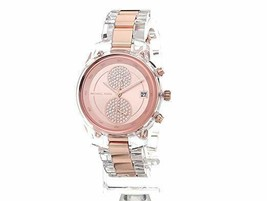 NWT Michael Kors Briar Chronograph & Date Bracelet Watch - MK6499 Rose Gold - $109.99