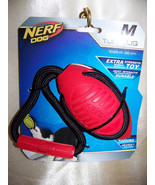 "Nerf Dog Toys Twister Tug, 10.25"", Red/Black - $12.32"