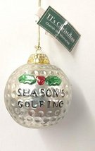 Golf Ball Ornament (L) - $15.00