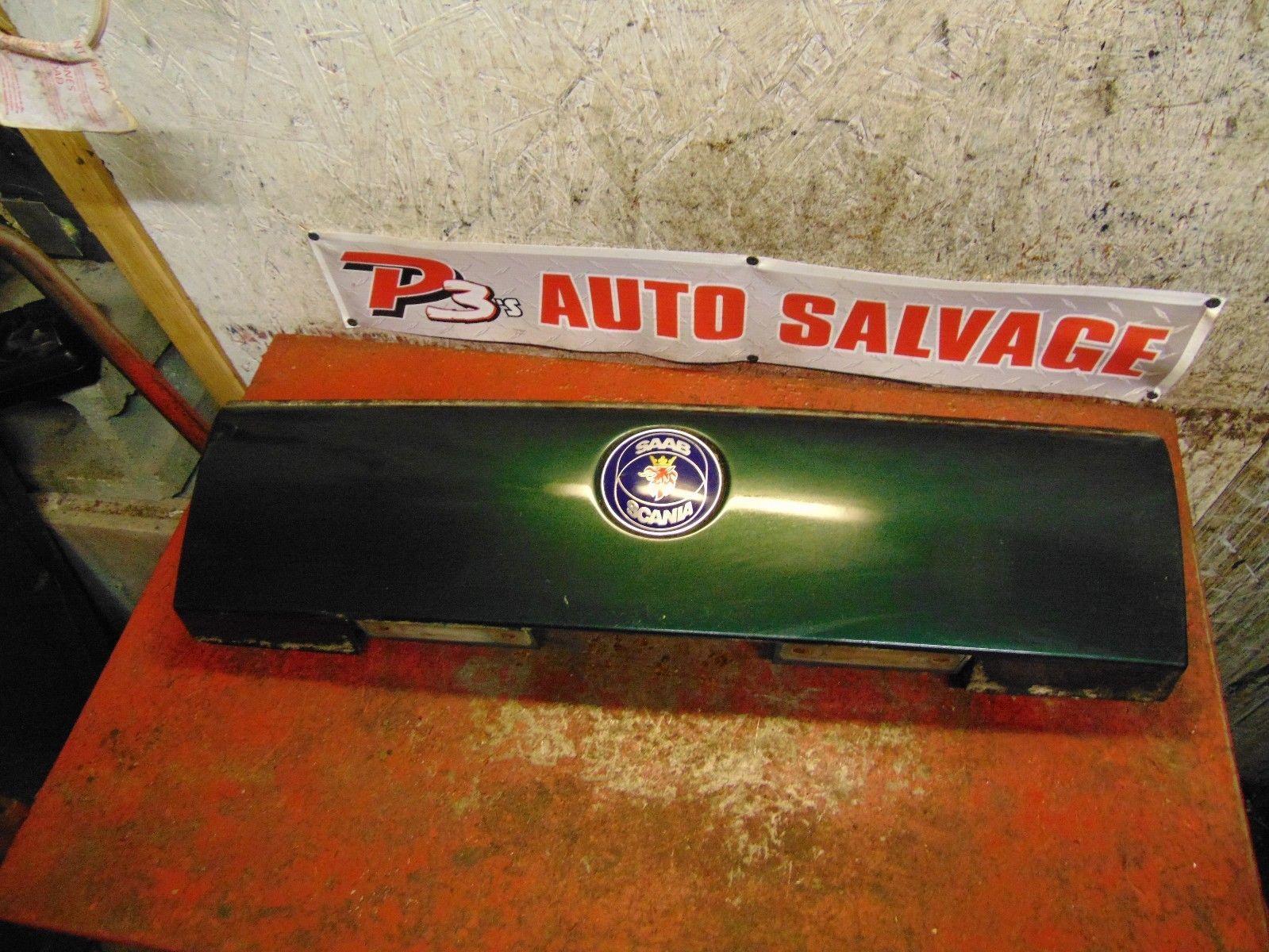 94 96 97 98 95 Saab 900 convertible trunk center brake tail light trim panel - $69.29