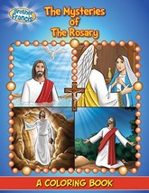 Coloring Book: The Mysteries of the Rosary (Coloring Storybooks) [Paperb... - $1.83