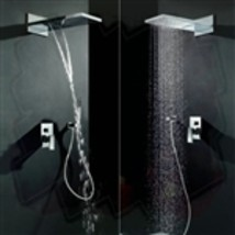 "22"" Venice Multifunctional Shower Polished 2 Way Rainfall Shower Sets - $529.00"