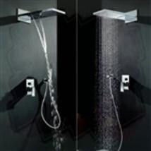 "22"" Venice Multifunctional Shower Polished 2 Way Rainfall Shower Sets - $529.00"