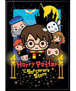 Harry Potter & Sorcerers Stone Charms Style Art Image Refrigerator Magne... - $3.99