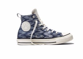 CONVERSE X Missoni Egret Shimmer Blue White Chuck Taylor All Star HI Top... - $61.82