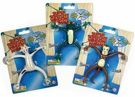 4 SUPER SQUISHY STRETCH WINDOW ANIMALS monkey frogs toy - $12.34