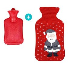 Knitted Bottle Cover,Hot Water Bottle,Ideal for Quick Warm Hands and Foo... - $15.37
