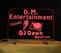 Personalized DJ Karaoke LED Bar Sign  image 7