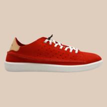 DIESEL S-Naptik  Mens  Suede Fashion Sneaker Fiery Red Size 7.5 - $112.19