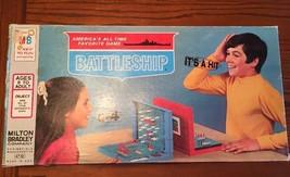 """Vintage """"Battleship"""" Navy War Ship Game  Milton Bradley 1971 Kids Games ... - $15.47"""