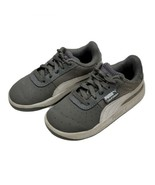 Puma Boys California Sneaker 7 Toddler Gray White Tennis Shoes Athletic ... - $19.99