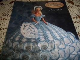 Miss April Fashion Doll Crochet Dress Pattern  - $10.00