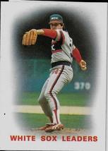 1986 Topps Baseball Card, #156, Chicago White Sox, Team Leaders, Richard... - $0.99