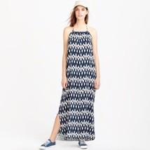 J Crew Ikat Halter Maxi Dress Size XL Beach Women's  - $29.99