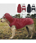 Waterproof Dog Clothes Big Pet Puppy Raincoat Outdoor Rainwear Rain Jack... - $21.99+