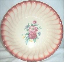 Vintage Antique Homer Laughlin Collectors Serving Bowl Floral Design - $21.95