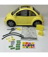 Barbie Volkswagen New Beetle Yellow Matching Accessories Two Keys (19-768) - $69.30
