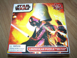 Star Wars Darth Vader Lenticular Puzzle 100 Pieces New - $12.00