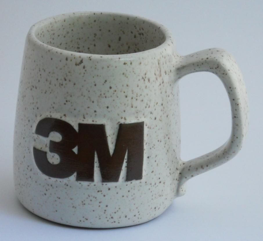 Primary image for 3M Coffee Cup Mug Advertising 3M Scotch Brand Tape
