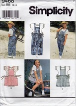 Girls Pattern 9468 Baggy Jumpsuit Side Ties Jum... - $8.99