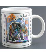 Alaska Bear Tracks Coffee Cup Mug by Arctic Circle Enterprises - $19.95