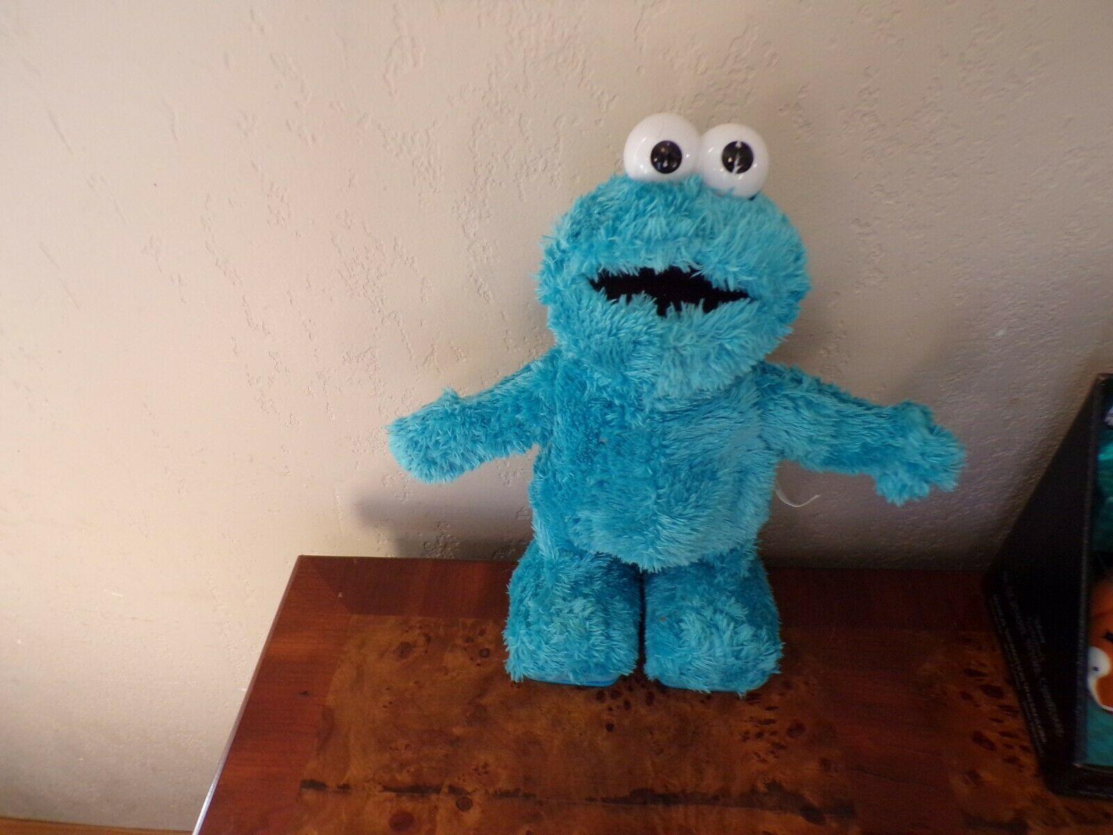 "2006 Mattel TMX Sesame Street Tickle Me Cookie Monster 12"" Plush Works Great!  - $24.99"