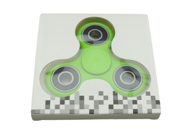 Idget spinner edc finger hand spinner focus anxiety stress relief desk toy green in box thumb200