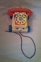 Fisher Price Pull Noise Maker Chatter Telephone - $8.90