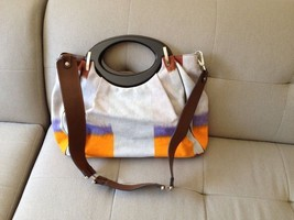 NEW AUTHENTIC MARNI BAG NWOT CANVAS FABRIC MULTI COLOR - $593.01