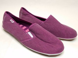 Vans Low Flats Women's Size 9 Purple Slip-On Slides Loafers Casual Shoes - $29.91