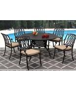 New 7 piece patio dining set Cast Aluminum Garden Furniture Outdoor - SA... - $1,768.14