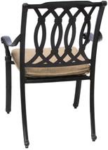 New 7 piece patio dining set Cast Aluminum Garden Furniture Outdoor - SAN MARCOS image 3