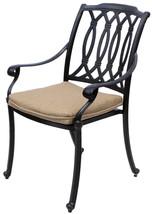 New 7 piece patio dining set Cast Aluminum Garden Furniture Outdoor - SAN MARCOS image 2