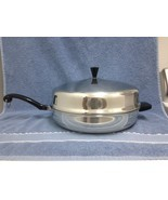 "Farberware USA 12"" Large Chicken Cooker-Fryer with High Dome Cover VINTAGE  - $56.09"