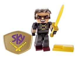 Tube Heroes - SKY, Action Figure With Accessori... - $6.99