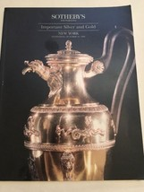 Sotheby's Auction Catalog / Important Silver And Gold / October 1994 - $19.80